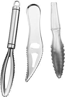 New Fish Scale Skin Remover Scaler Scraper Cleaner Tool Kitchen Peeler E3G7