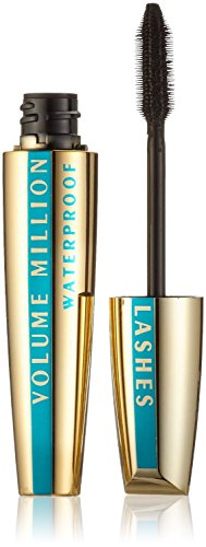 3 x L'Oreal Paris Volume Million Lashes Mascara 10.2ml - Waterproof Black