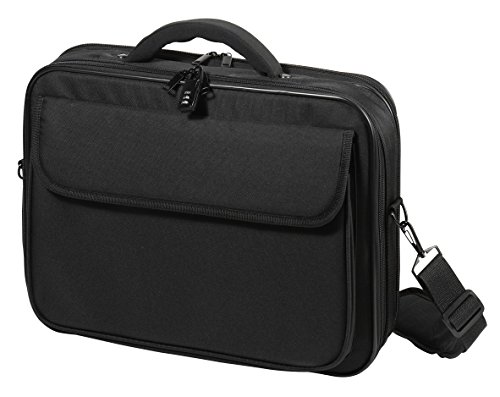 Vivanco NB Bag 15.6 Wide Advanced Widescreen Notebook Tasche (39,6 cm (15,6 Zoll), Schloss, Trolleyband, Organizerfunktion) schwarz