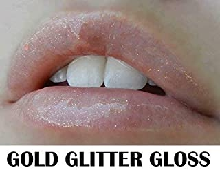 Lipsense Moisturizing Gloss (Gold Glitter)
