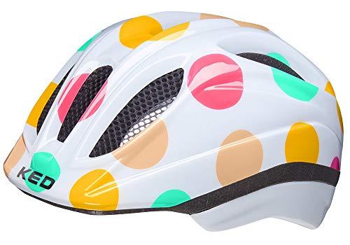 KED Meggy II Trend 2021 - Casco Infantil para Bicicleta (Talla S/M, 49-55 cm), diseño de Lunares