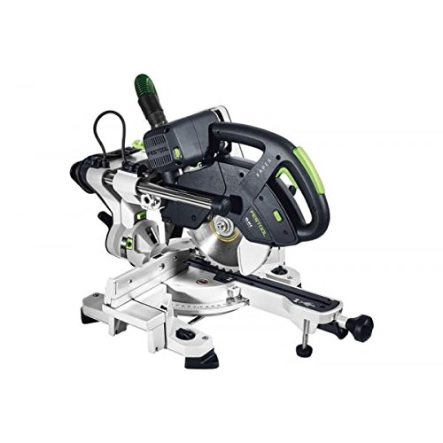 FESTOOL 561693 schuifdeur Compound verstekzaag KS 60 E-Set GB 110 V KAPEX, 110 V, meerkleurig