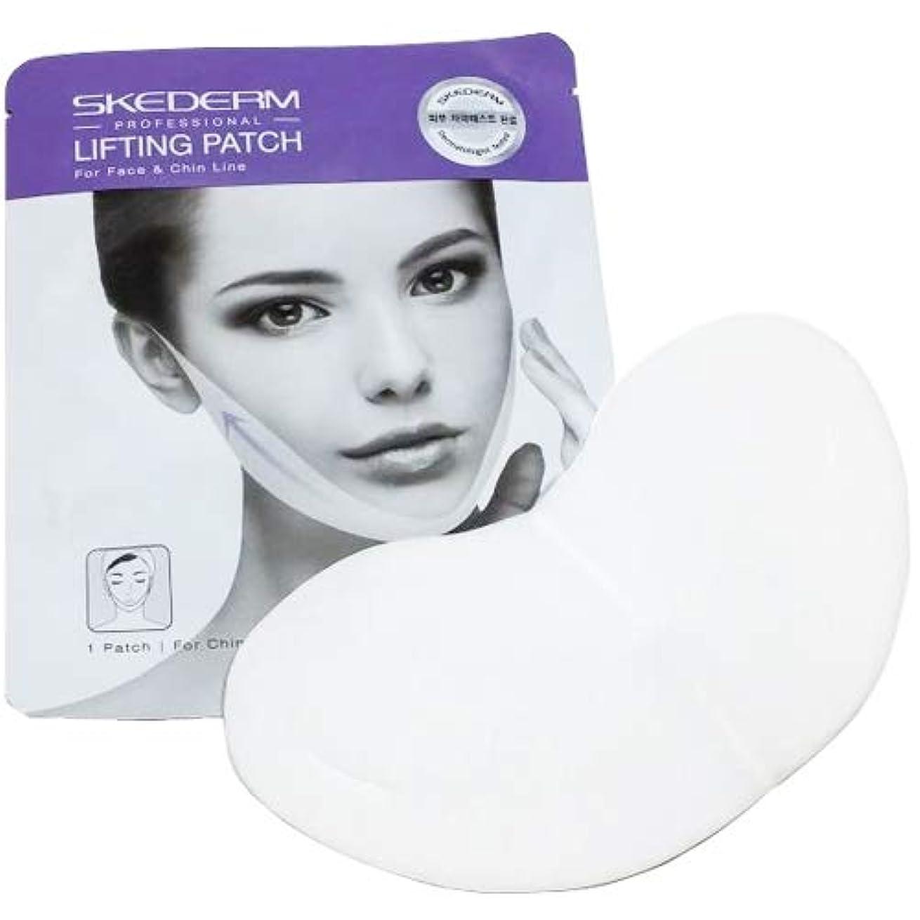 私達削除する期待SCEDERM リフティング パッチ 7g×9枚 韓国化粧品 V-TOXリフティングマスク マスク リフティング パッチ 小顔、顎ラインの必須アイテム Vライン