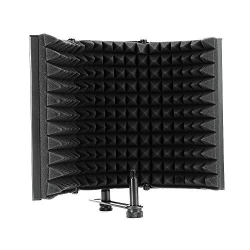 Estudio aislante de micrófono Estudio aislante de micrófono Espuma acústica Panel Mic Reflector de espuma absorbente de sonido