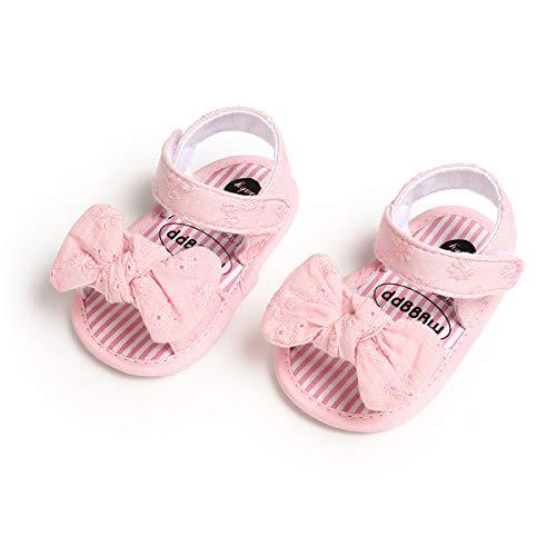 VIENNAR Bebé recién Nacido Niños Niña Zapatos Lindos con Lazo Antideslizante Sandalias...