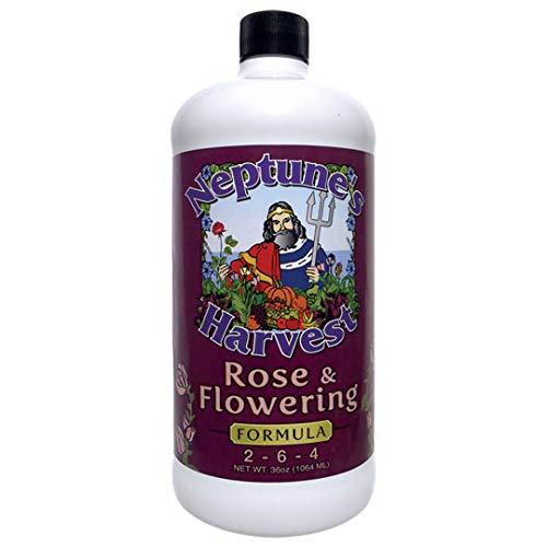 Neptune's Harvest Rose & Flowering Formula 2-6-4 (Quart)