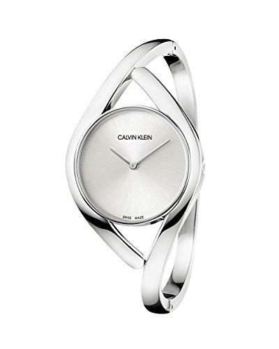 Calvin Klein Orologio Analogico Quarzo Donna con Cinturino in Acciaio Inox K8U2M116