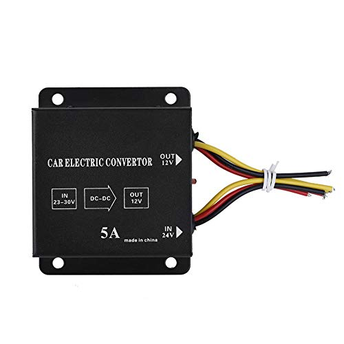 Price comparison product image DC 24V to 12V Power Converter Car Truck Electric Inverter Voltage Reducer Step-down Transformer(5A / 60W)