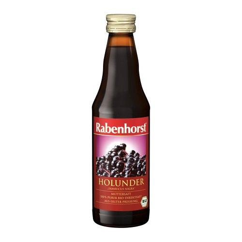 Rabenhorst Holunder 100% Bio-Muttersaft, 330 ml Lösung
