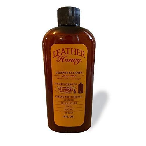 Leather Honey - Limpiador para cuero: El mejor limpiador de cuero para...