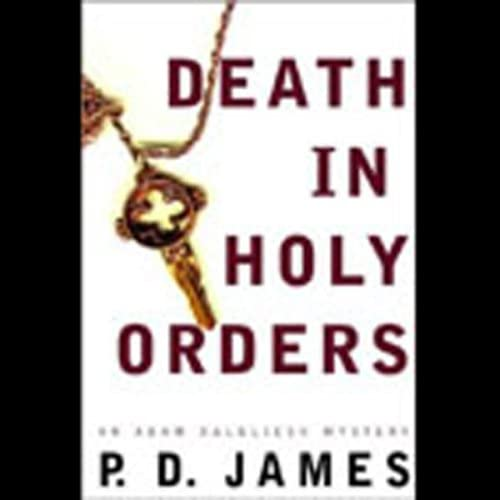 Death in Holy Orders An Adam Dalgliesh Mystery product image