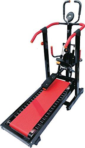 National Bodyline TR-03 4 in 1 Manual Treadmill , Multicolour