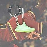 Xssbhsm Portachiavi 3D Sneaker Scarpe Portachiavi con Anello in Metallo e Scatola (Color : 22/613#)