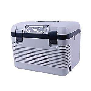 CENPEN Réfrigérateur de voiture Freeze chauffage -5~65 degrés 19L Compresseur de réfrigérateur pour voiture Accueil Pique-nique Réfrigération Chauffage DC12-24V / AC220V