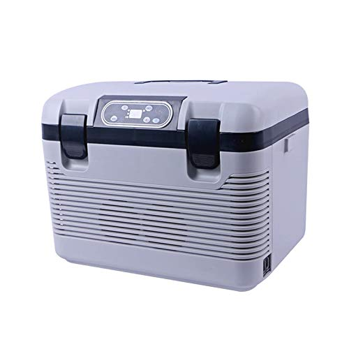 GNLIAN HUAHUA refrigerador Coche refrigerador congelado Calefacción -5~65 Grados 19L Compresor de Nevera para automóviles Home Picnic Refrigeración Calefacción DC12-24V / AC220V