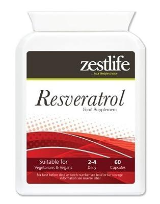 Zestlife Resveratrol - Pack of 60 Capsules