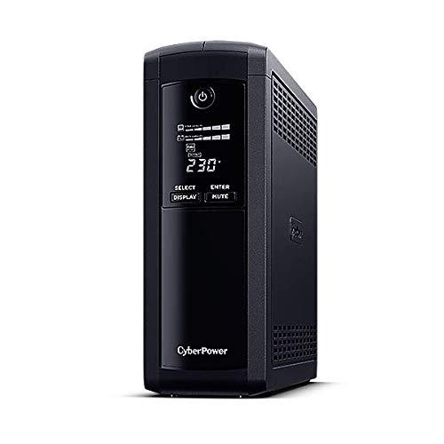 CyberPower VP1600ELCD Gruppo di continuità (ups) A Linea interattiva 1600 VA 960 W 4 Presa(e) AC VP1600ELCD, A Linea interattiva, 1600 VA, 960 W, Sinusoidale, 167 V, 295 V