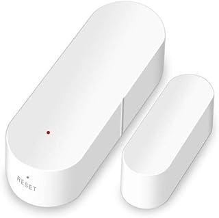 El Detector De Sensor Soporte De Sensor De Puerta WiFi para La Alarma De Seguridad De para Google Home Alexa Voice Control para El Sistema De Alarma De Seguridad Antirrobo