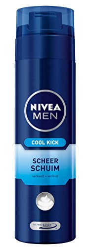 Nivea Men Cool Kick Mousse à Raser Mousse (200 ml) Nivea For Men Hol. Cooler Kick de 200 ml