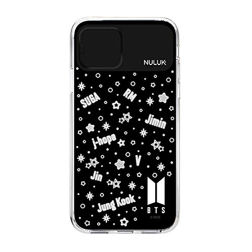 BTS Full Face Light Up Phone Case for Apple iPhone 11/iPhone 11 Pro/iPhone 11 Pro Max/iPhone Xs MAX/XR/XS/X for Samsung Galaxy Note 10/10 Plus