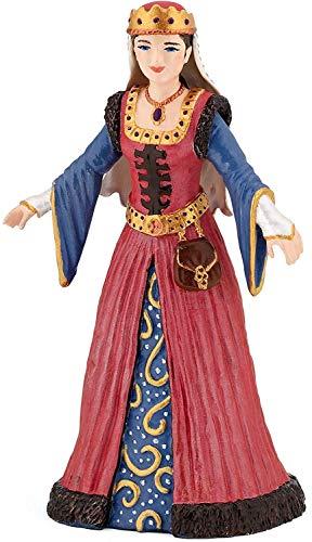 Papo 39048 Bezaubernde Welt Mittelalterliche Königin, Mehrfarben