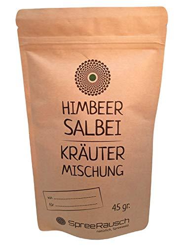 Tabakersatz von SpreeRausch – Dein perfekter Spliff, Himbeer- Salbei Kräutermischung, 100% ohne Nikotin