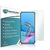 Slabo 4 x Bildschirmschutzfolie für Asus Zenfone 7 | Asus Zenfone 7 Pro Bildschirmfolie Schutzfolie Folie Zubehör Crystal Clear KLAR