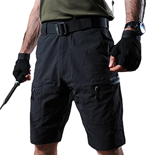 Q&M Hombre Tácticos Pantalones Antifouling Wasserdicht Carga Short Pantalón Multibolsillos Exteriores Shorts