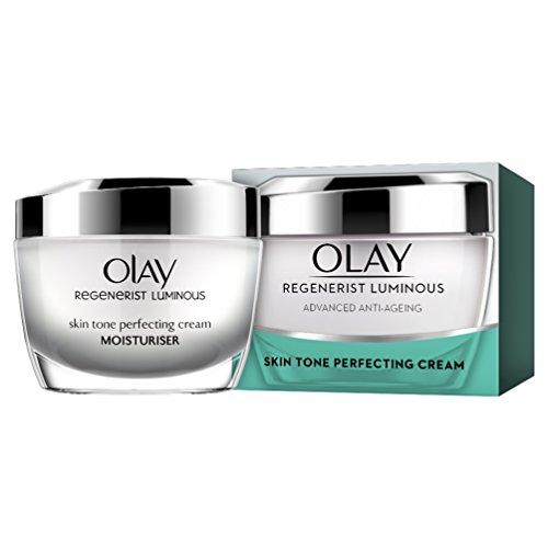 Olay - Regenerist, crema de día hidratante correctora de tono, 50 ml