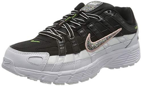 Nike W P-6000 SE, Zapatillas para Correr para Mujer, Black Multi Color White Coral Stardust, 40.5 EU