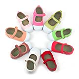 Kiku Zapatos para Niña, Algodón Orgánico, Informal Casual (28 EU, Limon)