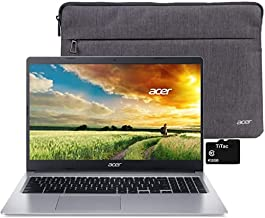 "2021 Acer Chromebook 315 Laptop Computer 15.6"" HD Display Intel Celeron N4000 Processor(Up to 2.6GHz) 4GB RAM 32GB eMMC Webcam BT USB Type C Chrome OS + TiTac Accessory"