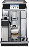 De'Longhi PrimaDonna Elite Fully Automatic Coffee Machine, Silver, ECAM650.85.MS