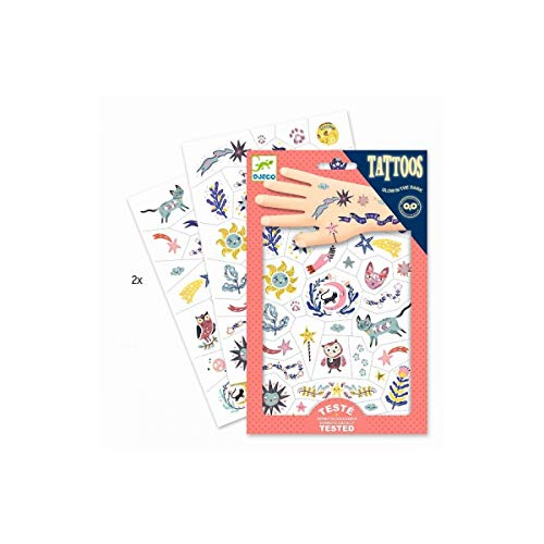 Djeco- Tatuaggi, Colore Misto, DJ09592