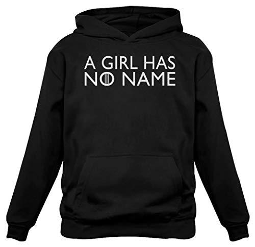 TeeStars - A Girl Has No Name Women Hoodie Large Black