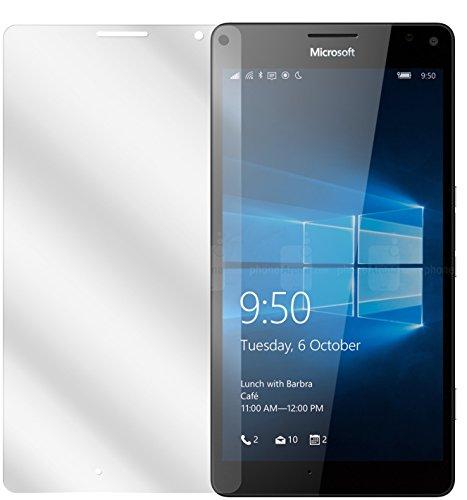 dipos I 6X Protector de Pantalla Compatible con Microsoft Lumia 950XL pelicula Protectora Claro