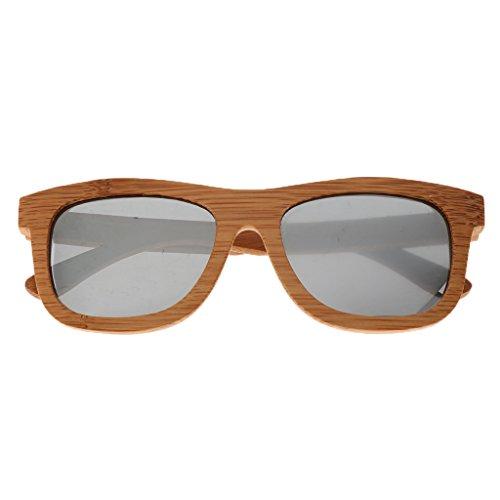 yotijar Gafas Deportivas Polarizadas Unisex Gafas de Sol Gafas con Protección UV400 para - Plata, como se describe