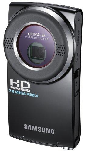 Samsung HMX-U20 Pocket-Camcorder (Full HD, 8-Megapixel-CMOS, 3 x Opt. Zoom, 10-MP-Fotofunktion, HDMI) schwarz