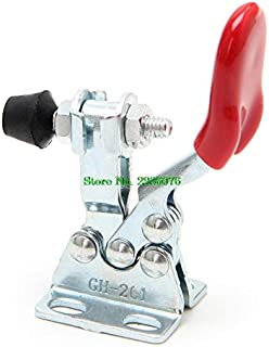 Paul My 4Pcs/Set Metal Horizontal Quick Release Hand Tool Toggle Clamp for Fixing Workpiece 100% New