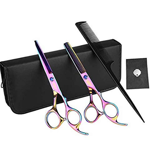 Professional hairdressing scissors thinner multi-piece suit,