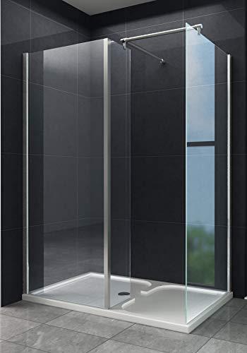 Schneckendusche SARA 150 x 90 x 195 cm ohne Tasse/Dusche Duschabtrennung Duschwand