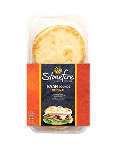 Stonefire Original Naan Rounds 12 Naans 12.7 oz