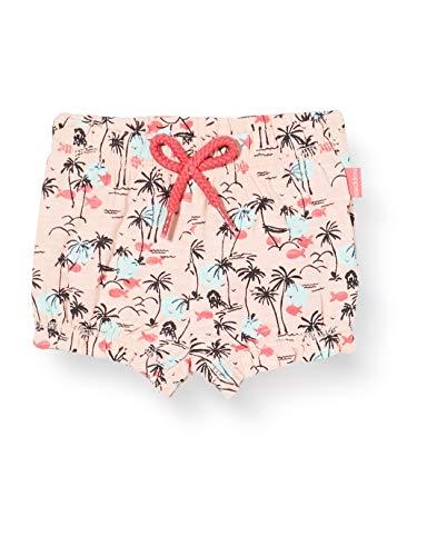 Noppies Baby-Mädchen G Diaper Cranston AOP Shorts, Mehrfarbig (Impatience Pink P029), (Herstellergröße: 80)