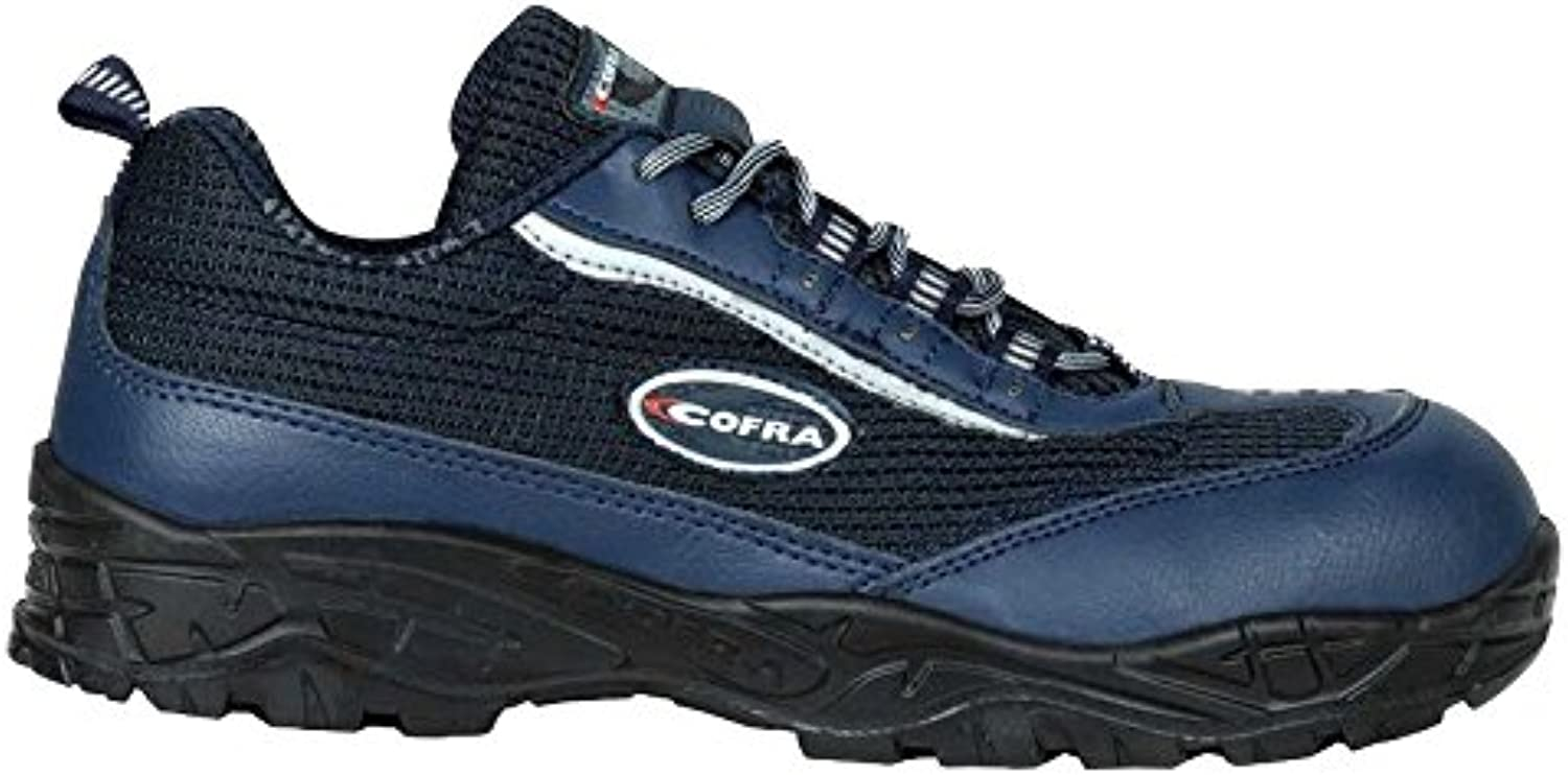 Cofra 22192-001.W45 Size 45 Cleft  S1 P SRC Safety shoes - bluee Black