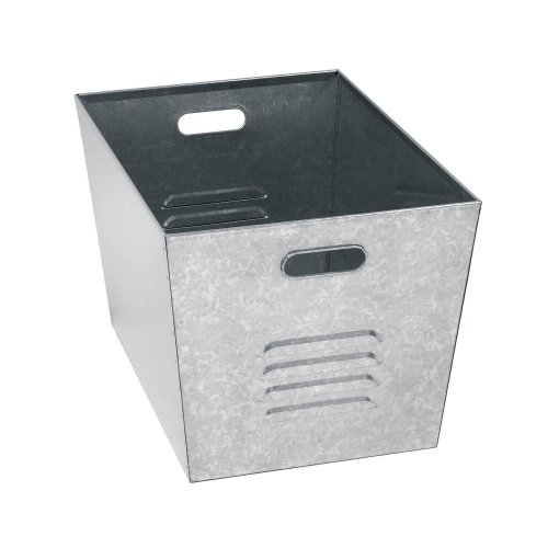 Muscle Rack LB111310 Steel Galvanized Utility Bins 12' Width x 11' Height x 17' Depth (Pack of 6)