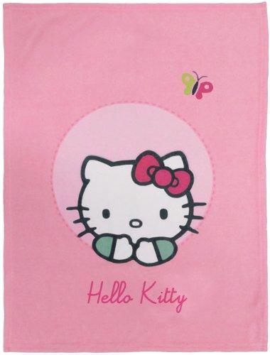 Hello Kitty Plaid Cuddle - Emma - 75 x 100 cm