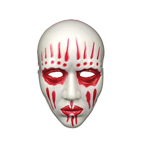 ZWWZ Mscara de Halloween Cosplay Resina mscara del Partido de la Mascarada Complementos Disfraz * HAIKE