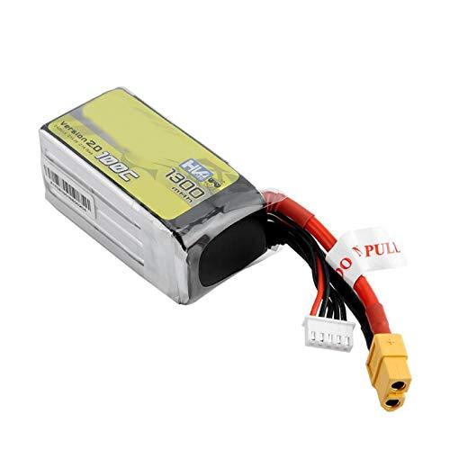 SALUTUYA 100C con batería de Enchufe XT60-SYP para FPV Ligero 4S1P para FPV Quadcopter Drone