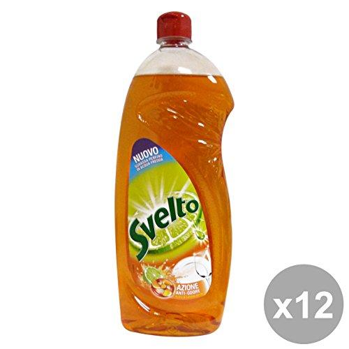 Set 12 SVELTO Piatti 1 Lt. ACETO AntiODORE Detergenti casa