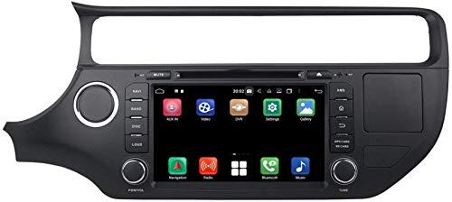 Drohneks Navigazione GPS per Auto con Sistema operativo Android 10.0 Compatibile con Kia K3 / Rio (2015-2020), Lettore Dvd Touchscreen da 8 Pollici Radio Bluetooth Head Unit